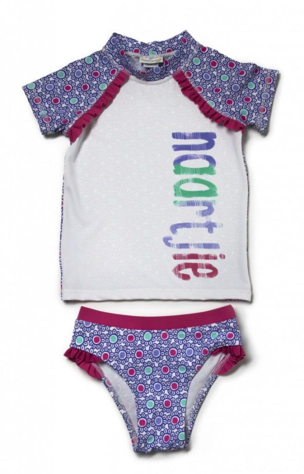 Girls rash vest and pants