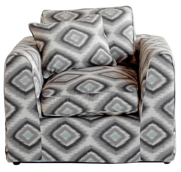 Manor Chair Bondi Ikat Grey