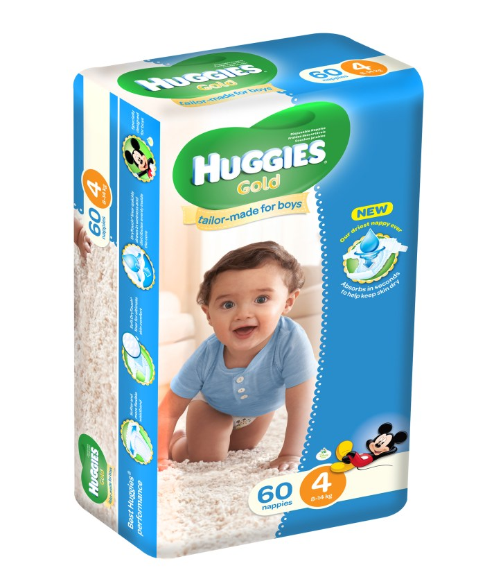 Huggies Size 4 Boys