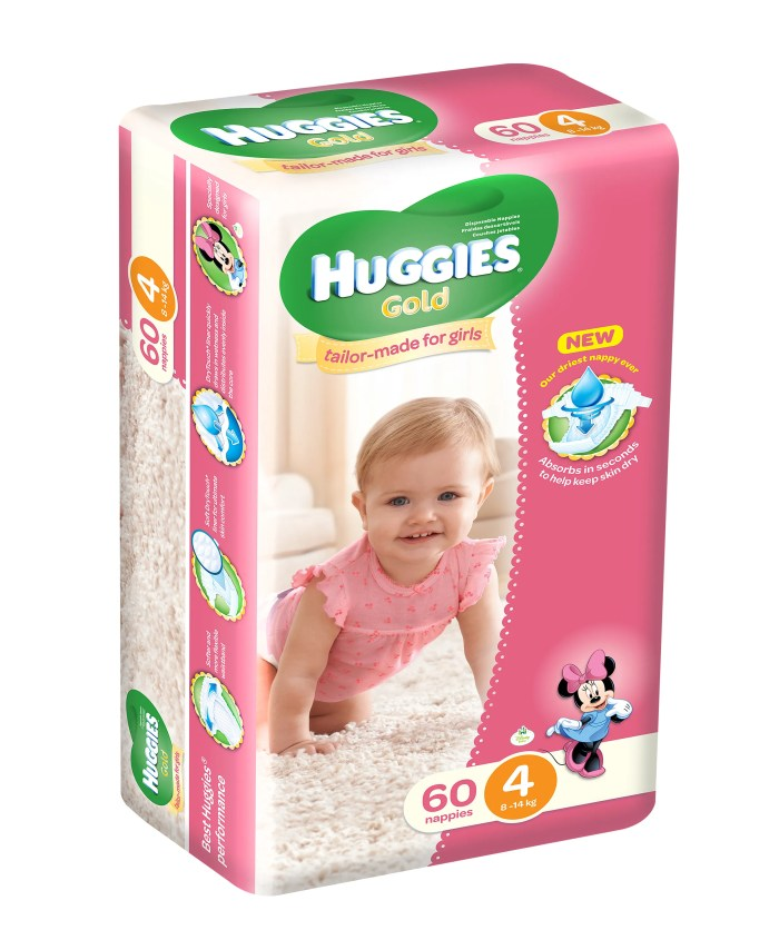 Huggies Size 4 Girls