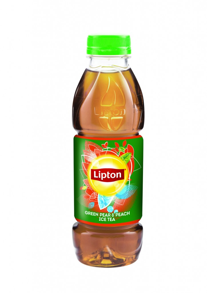 Lipton Peach & Pear 500ml copy
