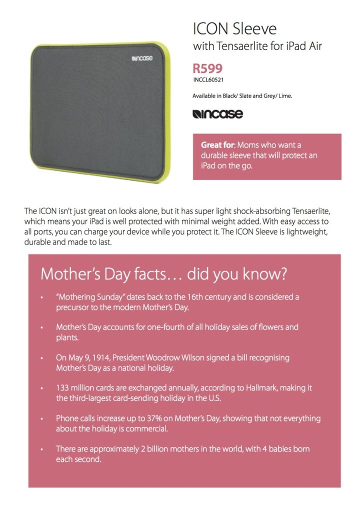 iStore Mothers Day Guide4 2015
