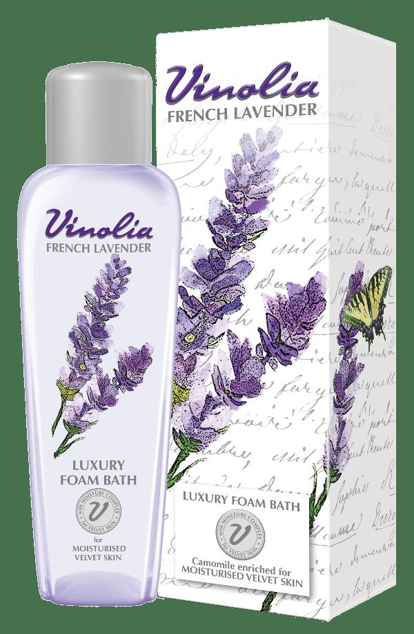 Vinolia French Lavender Foam Bath
