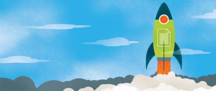 SEO Rocket Illustration