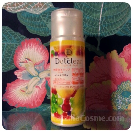 Best Pick DETclear Bright & Peel Fruits Enzyme Powder Wash