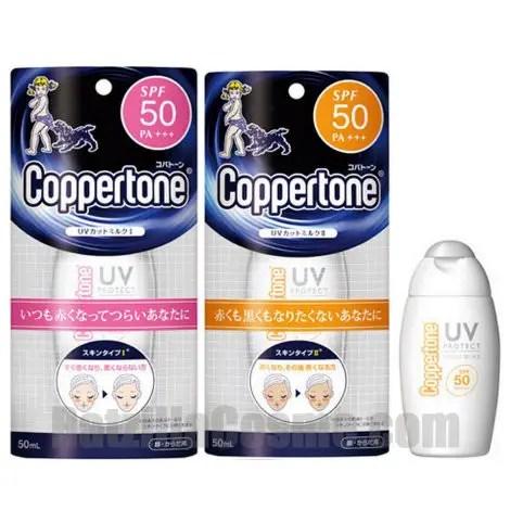 Coppertone UV Cut Milk I & II