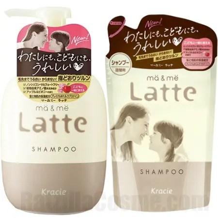 Kracie ma & me Latte Shampoo
