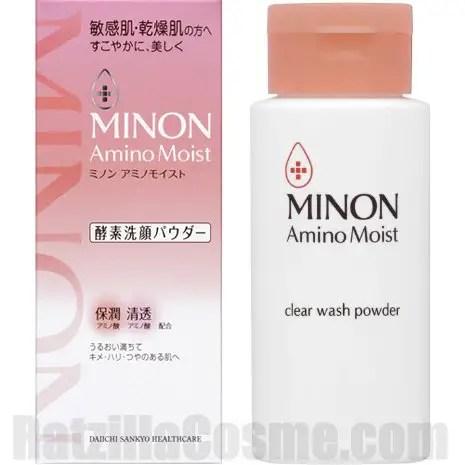 MINON Amino Moist Clear Wash Powder