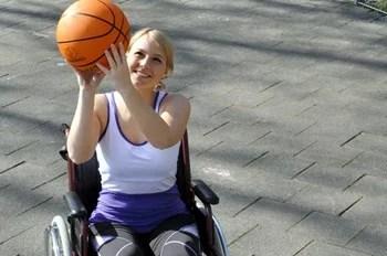 basketball sport rollstuhl lebensfreude
