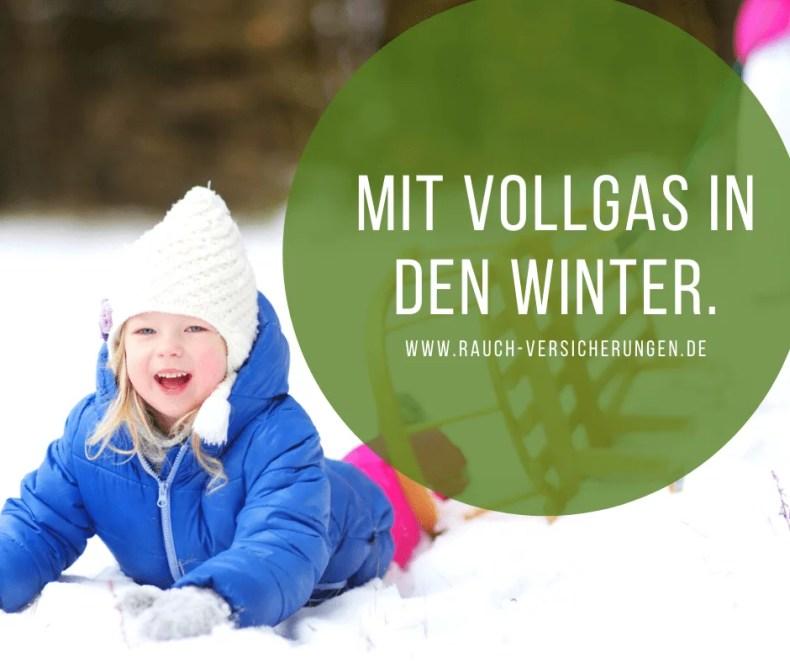 Die Kinder-Unfallversicherung ist im Winter unersetzlich.