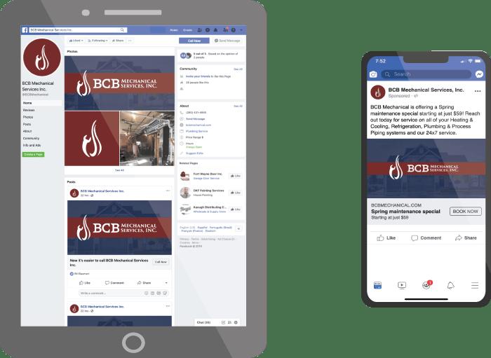 Rauch Digital - BCB Mechanical Facebook