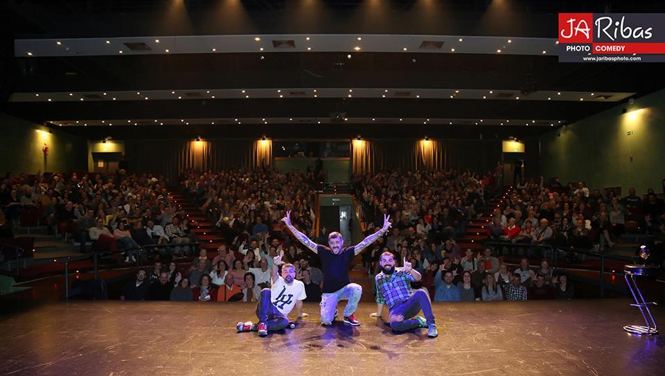 Fem L'Humor - Hospitalet - Raul Alcaraz cómico - monologuista - actor -Final público FLH4