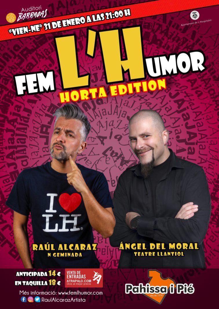 Fem L'Humor - Hospitalet - Raul Alcaraz - 31 ENE 2020 ANGEL DEL MORAL