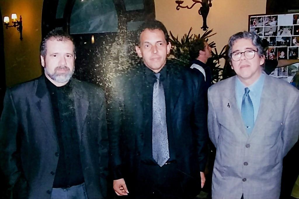 No saguão do Grande Hotel SENAC, em Campos do Jordão (SP).