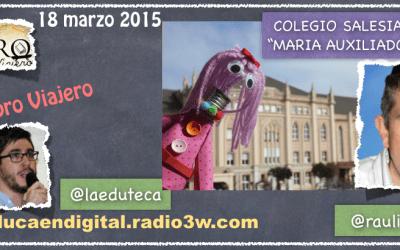 """Entrevista """"El Gran Libro Viajero"""" – Proyecto colaborativo"""