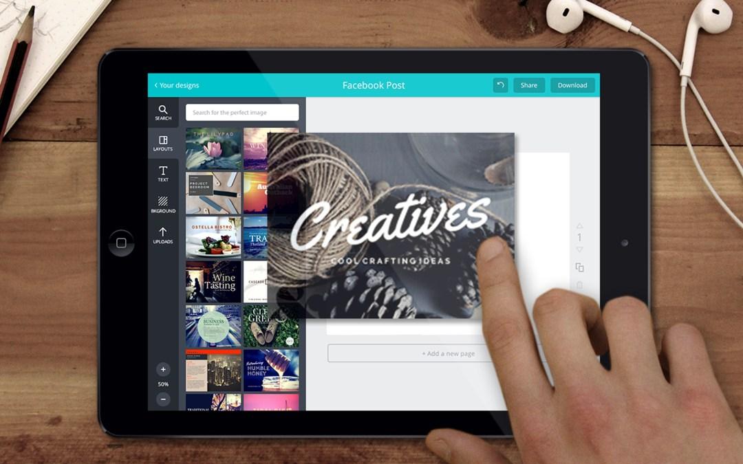 Crea recursos visuales con Canva
