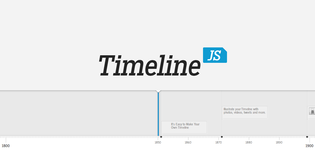 Tus líneas del tiempo con Timeline JS