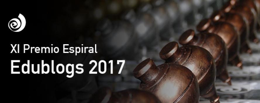 """Ganador de los """"Premios Espiral Edublogs 2017″"""