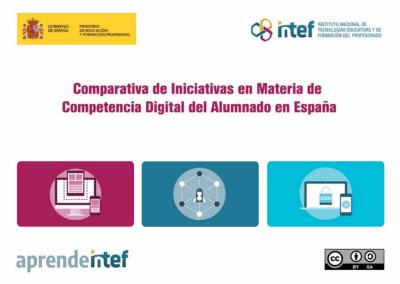 Comparativa de iniciativas en Materia de Competencia Digital del Alumnado en España