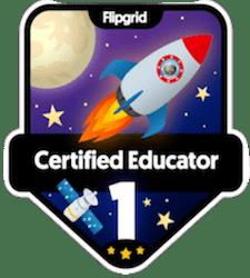 Flipgrid Certified Educator – Level 1