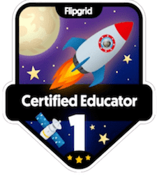 Flipgrid Certified Educator – Level 1