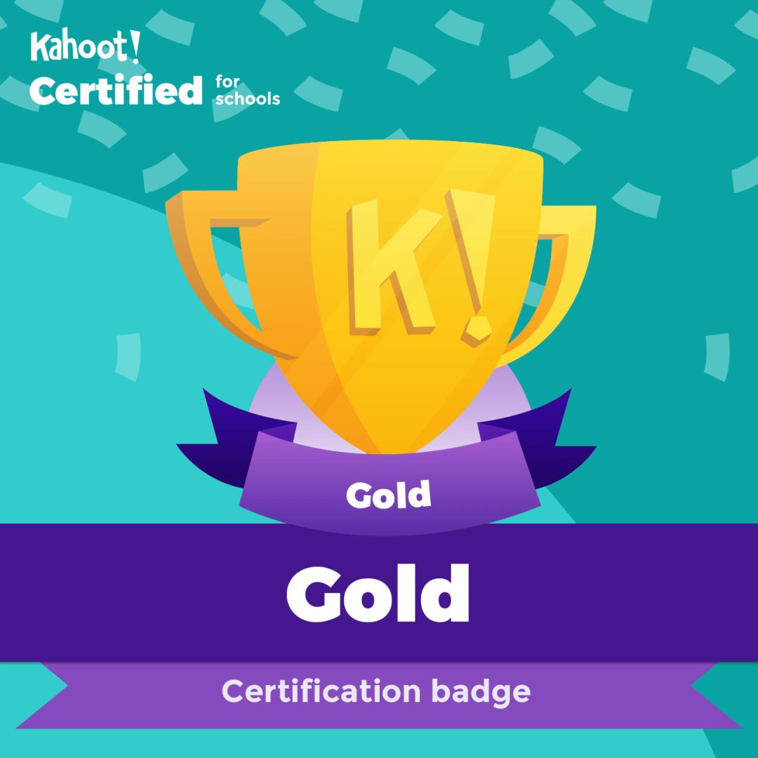 Kahoot Certified – Gold