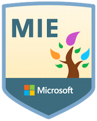 Certified Microsoft Innovative Educator – MIE