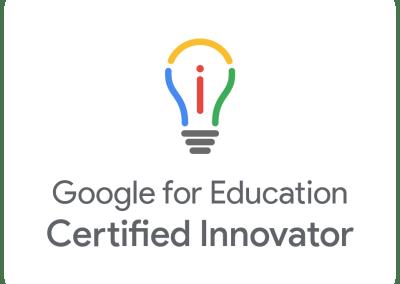 Google Certified Innovator