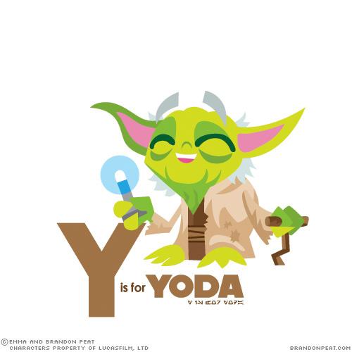 El Abecedario Star Wars para niños…
