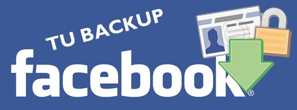 Haz una copia de seguridad de tu perfil de Facebook paso a paso