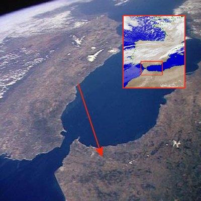 Ver Africa desde Málaga…
