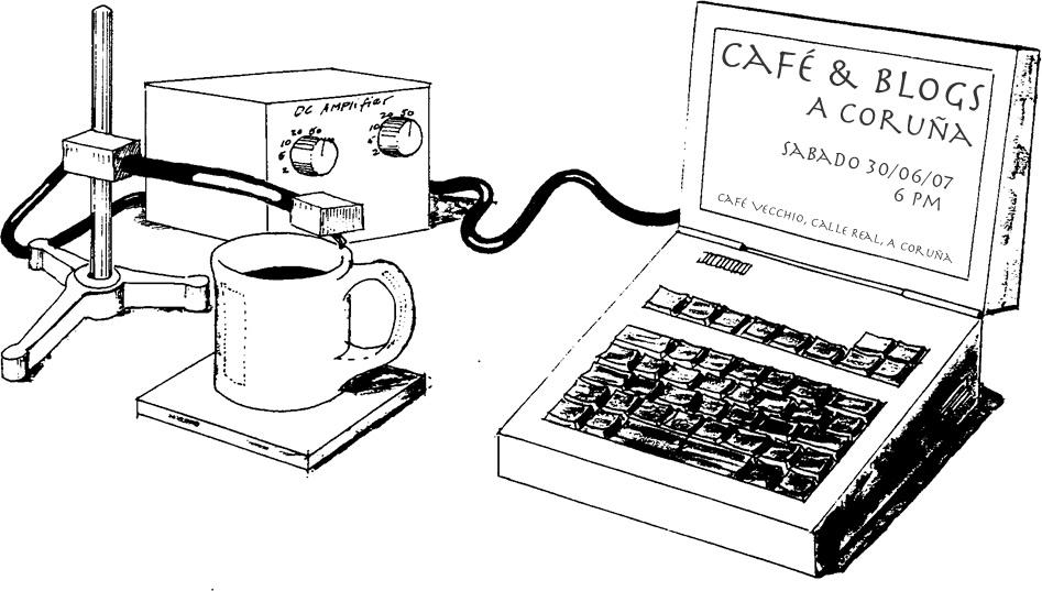 Café&Blogs en La Coruña