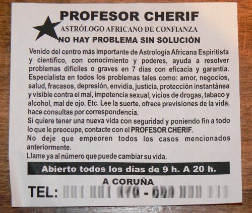 Profesor Cherif…