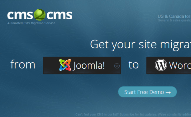 wordpress converter into cms content webapp