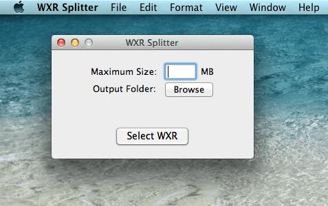 wxr-splitter