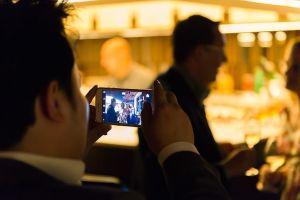fotografia de eventos corporativos de empresa - cena Clínica Liberty - Raul Mellado fotografo