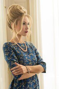 Fotografía tomada en una sesión fotográfica de moda Pret-a-porter de lujo