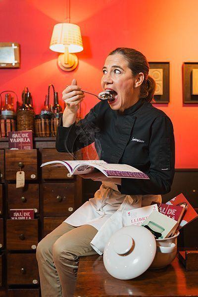 Fotografía Personal Branding para la Chef y escritora Ada Parellada del restaurante Semproniana