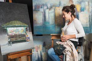 fotografía corporativa Personal Branding, retratos corporativos - Leire Flores, artista - Raul Mellado fotografo