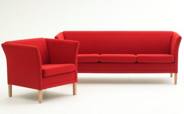 Sofa geschwungen  Sofa Lem | Raum 93