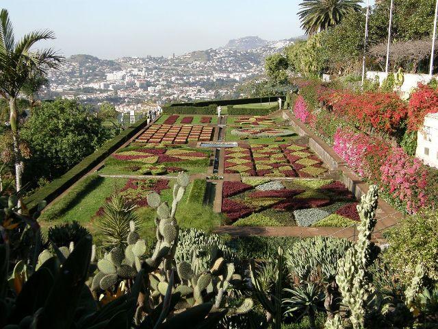 Jardim Botanico Da Madeira Botanischer Garten Madeira