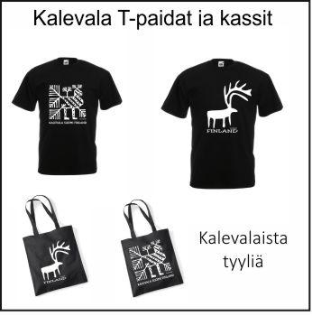 Kalevala T-paidat ja kassit