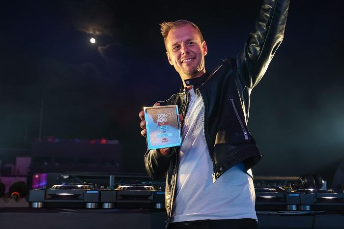 Armin van Buuren secures 20th consecutive ranking in DJ Mag Top 100 with #4  spot