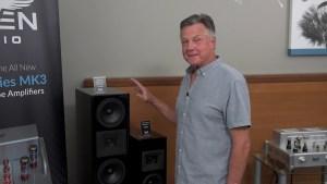 AXPONA, Raven Audio, Avian Tube Amplifiers, Corvus Speakers CeLest' Speakers