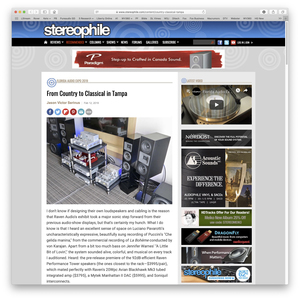 Florida Audio Expo Stereophile Article