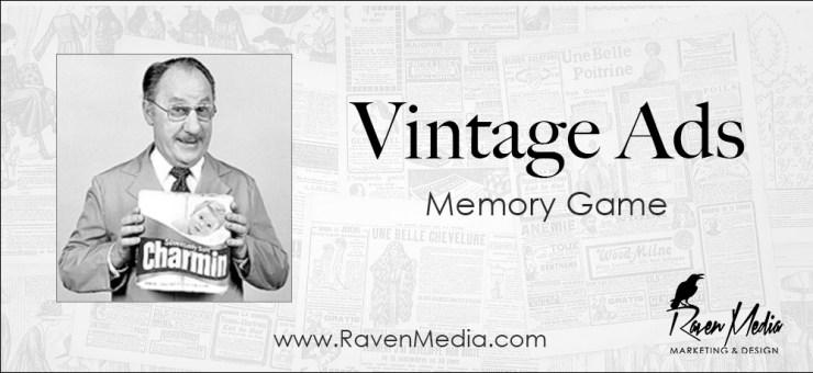 Vintage Advertising Memory Game
