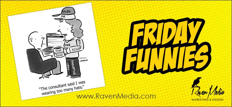 Friday Funnies: Too Many Hats