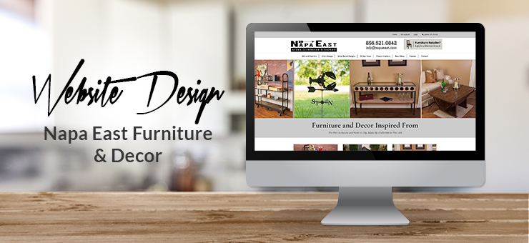 Napa East Website Design