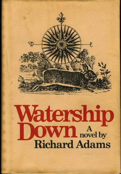 Image result for book cover watership down