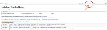 Wikipedia History